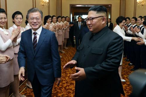 Truyền thông Bắc Triều Tiên đồng loạt đưa tin về chuyến thăm của Tổng thống Hàn Quốc