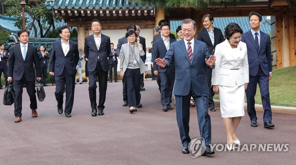 Pour le leader sud-coréen, il est important pour Séoul et Pyongyang de se retrouver souvent