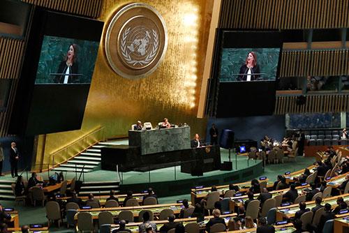 73. UN-Generalversammlung in New York eröffnet