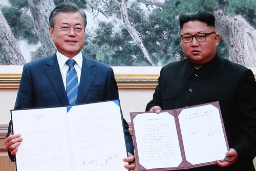 平壌共同宣言から2年 北韓に対する政府の前向きな評価相次ぐ