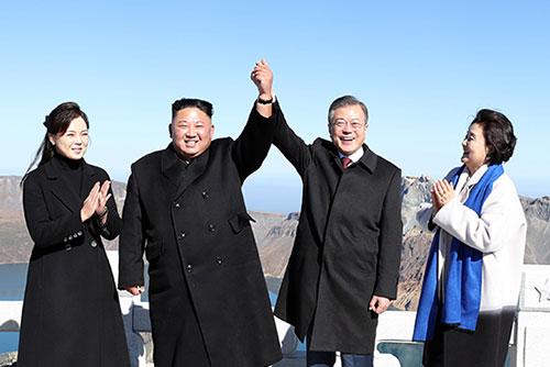 Президент РК Мун Чжэ Ин завершил визит в КНДР