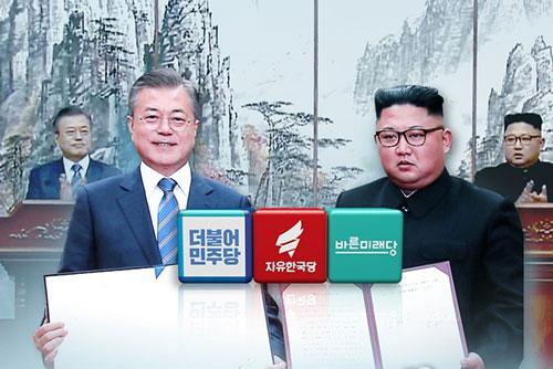 Los partidos muestran diversas reacciones a la Declaración de Pyongyang