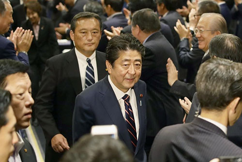 Abe to Attend Anniversary Event Marking Japan-S. Korea Partnership