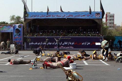 Seoul verurteilt Anschlag auf Militärparade im Iran