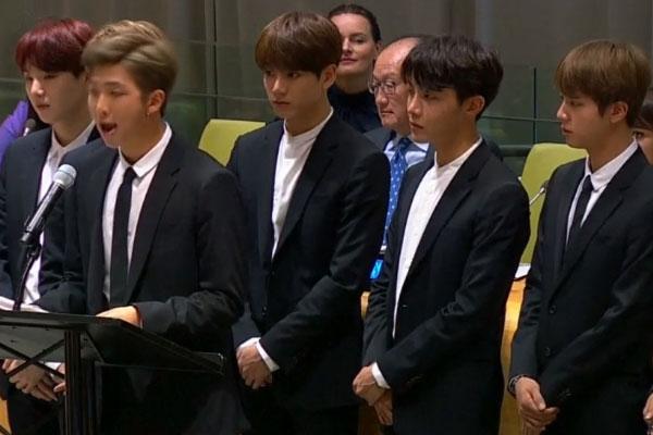 BTS Sampaikan Pidato di PBB