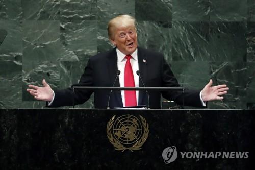 国連演説で金正恩氏に謝意 トランプ大統領
