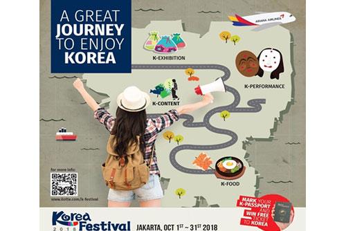 Festival Korea Dibuka di Indonesia Pada Bulan Oktober