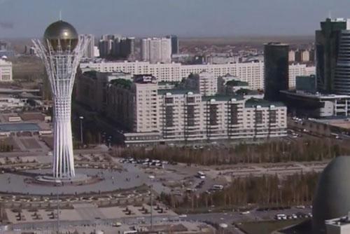 카자흐스탄, 한국 전통의상 전시회 열려