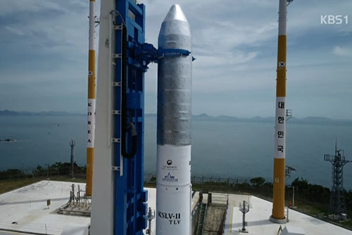 Hàn Quốc sẽ phóng thử tên lửa vũ trụ Nuri vào ngày 25/10
