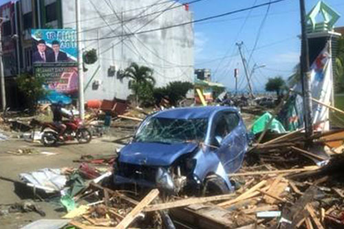 종교계, 인도네시아 지진 피해 위로