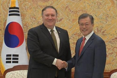 Mike Pompeo se rend à Séoul après sa visite à Pyongyang