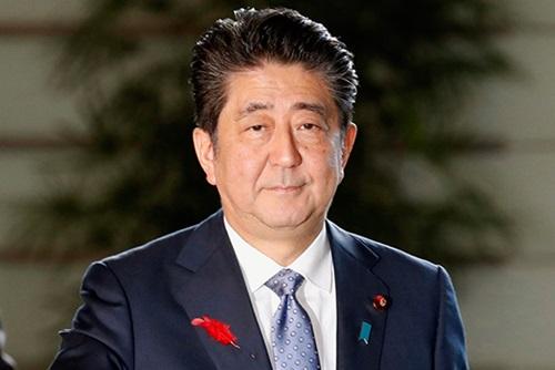 安倍首相 未来志向の関係発展を強調