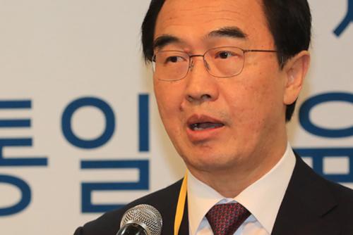 統一部長官 「5.24措置の解除は北韓の謝罪が前提」