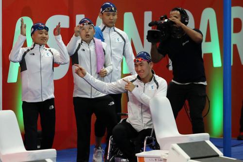 Объединённая команда Юга и Севера по плаванию завоевала бронзу