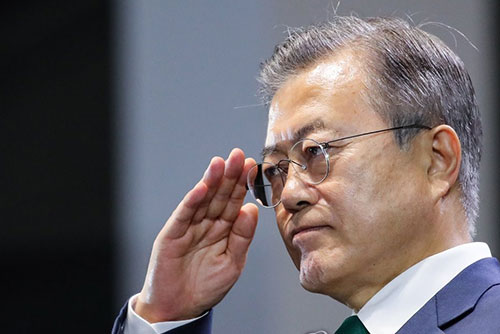 Gallup Korea: Рейтинг президента РК Мун Чжэ Ина вырос на 1%