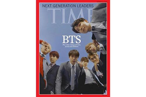 BTSが表紙のタイム誌、予約分売り切れ