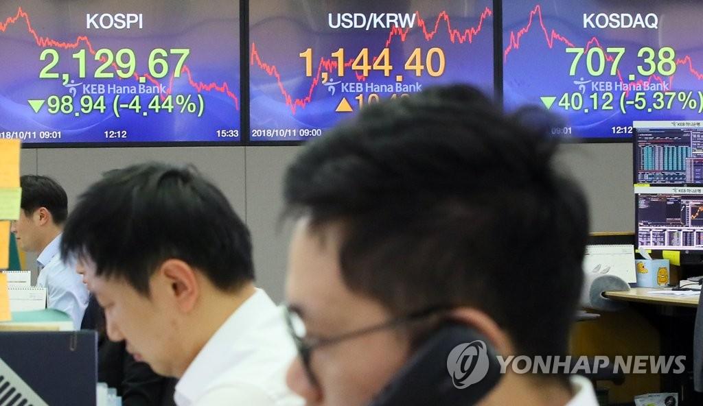 Coup de froid sur la Bourse de Séoul