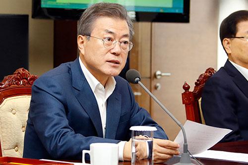 13 октября Мун Чжэ Ин отправится с визитом в страны Европы