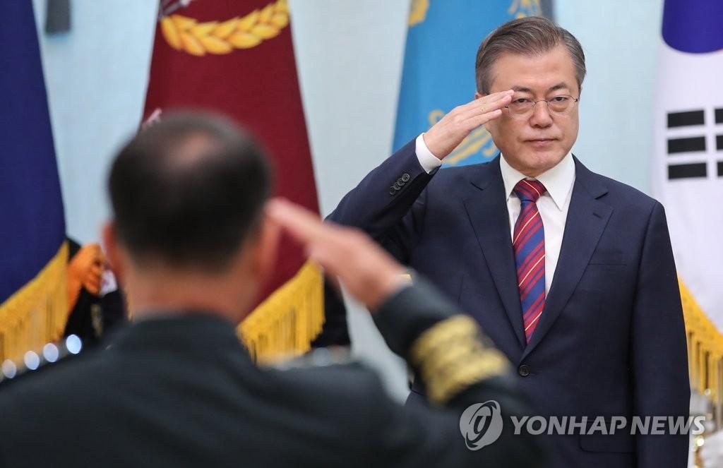 文大統領 「軍事合意は北韓にNLL認めさせた」