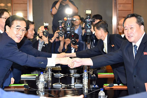 Two Koreas to Hold High-Level Talks at Panmunjeom Monday