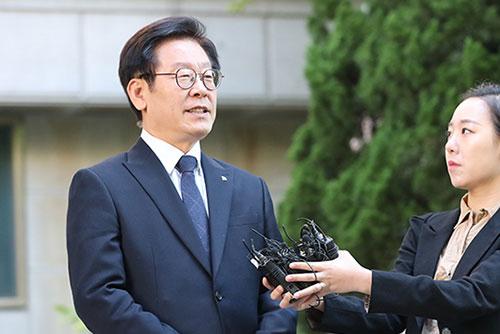 """이재명 """"이명박·박근혜 정권 때도 문제 안돼…사필귀정 믿는다"""""""
