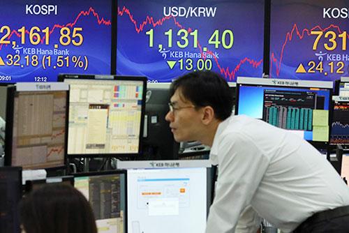 1月16日主要外汇牌价和韩国综合股价指数