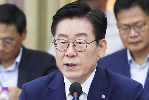 La policía registra la casa del gobernador de Gyeonggi