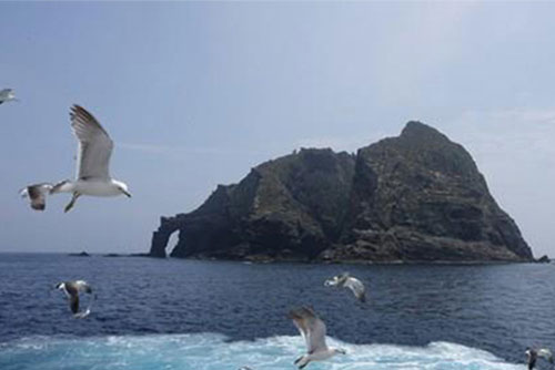 Japan Protests S. Korean Lawmakers' Planned Trip to Dokdo