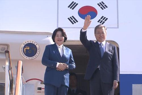 Presiden Moon Mulai Kunjungan Resmi ke Uni Eropa