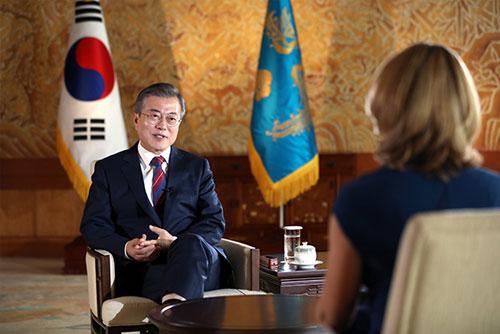 Moon: Nordkorea will Atomwaffen beseitigen