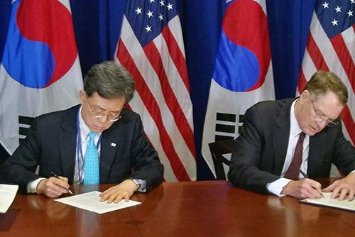 В Национальное собрание направлен проект ратификации поправок к FTA между РК и США