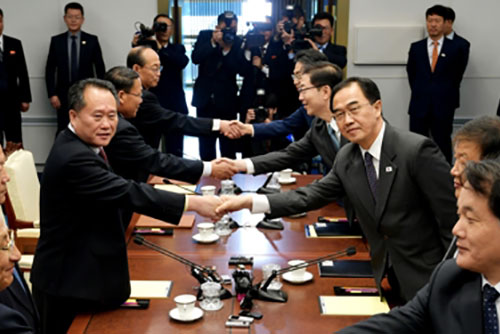 남북고위급회담 진행...평양공동선언 이행 논의