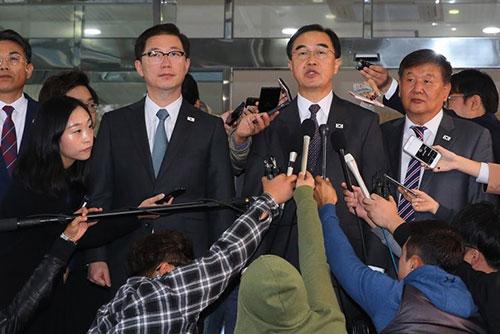 Süd- und Nordkorea führen hochrangige Gespräche