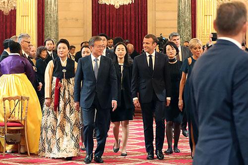 В Париже состоялся южнокорейско-французский саммит