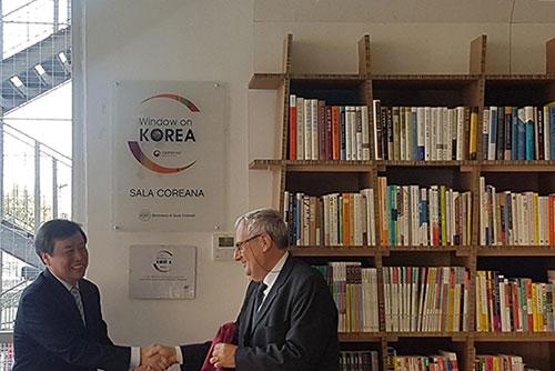 В римском университете Ла Сапиенца появился Корейский архив