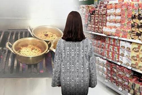 La soupe de ramyeon s'avère riche en sodium