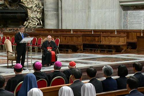 Une messe spéciale pour la paix dans la péninsule coréenne a été célébrée au Vatican