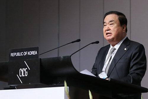 """문의장 """"남북국회회담 평양 개최가 원안, 서울도 무방"""""""