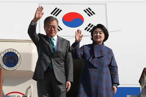 Президент РК Мун Чжэ Ин завершил европейское турне