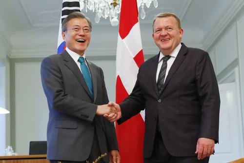 Лидеры РК и Дании договорились активизировать сотрудничество двух стран