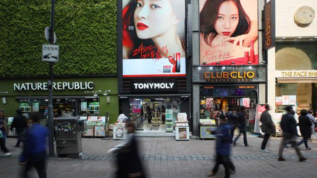Korean Cosmetics Exports Quaduple over Last Four Years