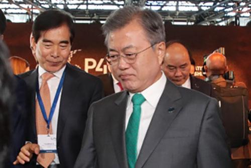 La Cheongwadae s'explique sur l'initiative de Moon Jae-in concernant les sanctions contre Pyongyang