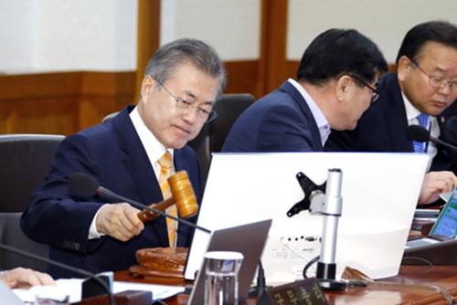 La déclaration intercoréenne de Pyongyang ratifiée en conseil des ministres