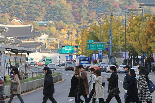 Season's First Ice Reported in Seoul