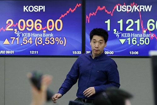 Börse schließt nach Trump-Bemerkung freundlich