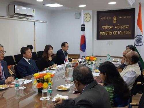 S. Korea, India to Expand Exchanges in Tourism, Sports