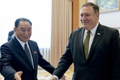 Washington: Pompeo trifft Kim Yong-chol am Donnerstag in New York