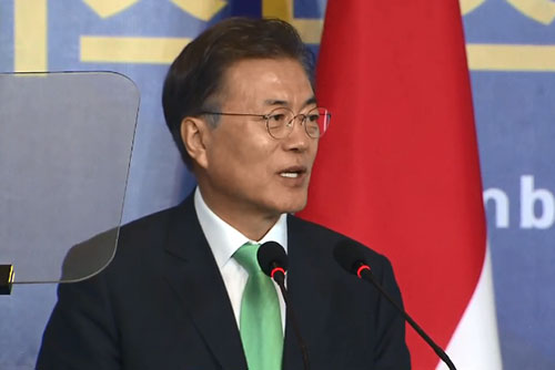 Moon to Meet Leaders of Russia, US, Australia, China During Regional Forums