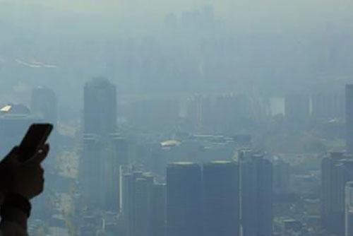 استمرار الغبار الدقيق عالي الكثافة في أجواء كوريا