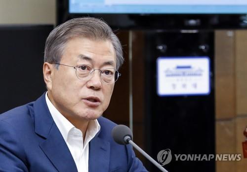 Президент РК обещает укреплять сотрудничество двух Корей и России